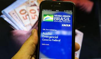 Caixa paga auxílio emergencial a nascidos em fevereiro (Crédito: Marcello Casal Jr.)