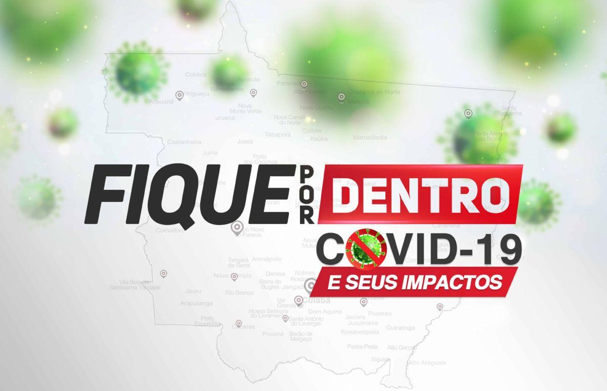 Quinta-feira (13): Mato Grosso registra 70.708 casos e 2.302 óbitos por Covid-19