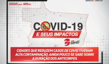 Cidades que reduzem casos de covid tiveram alta contaminação. Ainda pouco se sabe sobre a duração dos anticorpos