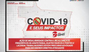Ação de insalubridade contra a jbs alcança os frigoríficos de Araputanga, Quatro Marcos e Pontes e Lacerda: trabalhadores devem procurar advogado para receberem direitos atrasados
