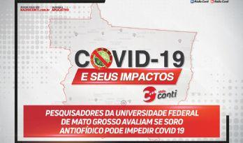 Pesquisadores da Universidade Federal de Mato Grosso avaliam se soro antiofídico pode impedir covid 19