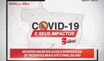 Governo anunciou auxílio emergencial de trezentos reais até o final do ano