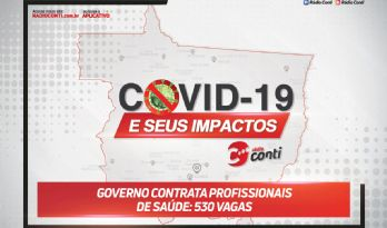 Governo contrata profissionais de saúde: 530 vagas