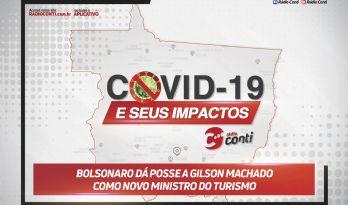 Bolsonaro dá posse a Gilson Machado como novo ministro do Turismo