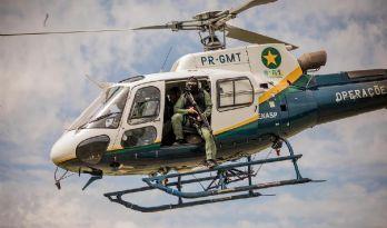 Governador assina compra de helicóptero de R$ 21 milhões para o combate os incêndios (Crédito: Christiano Antonucci)